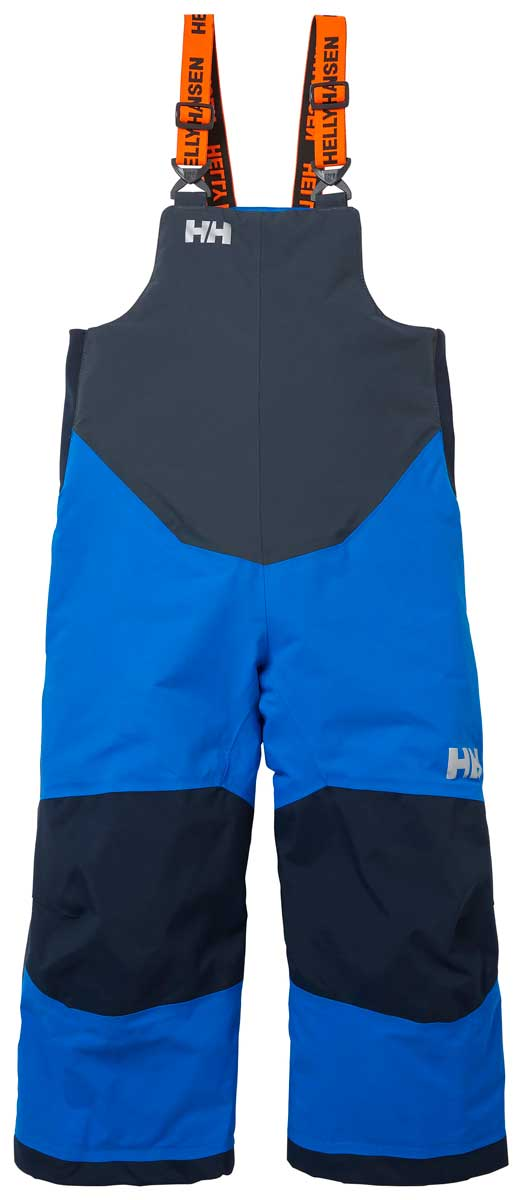 Helly Hansen Kids' Rider 2 Insulated Bib in Sonic Blue