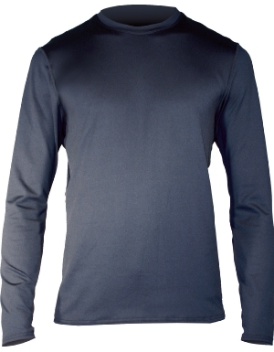 Hot Chillys Men's MEC Crewneck in Black