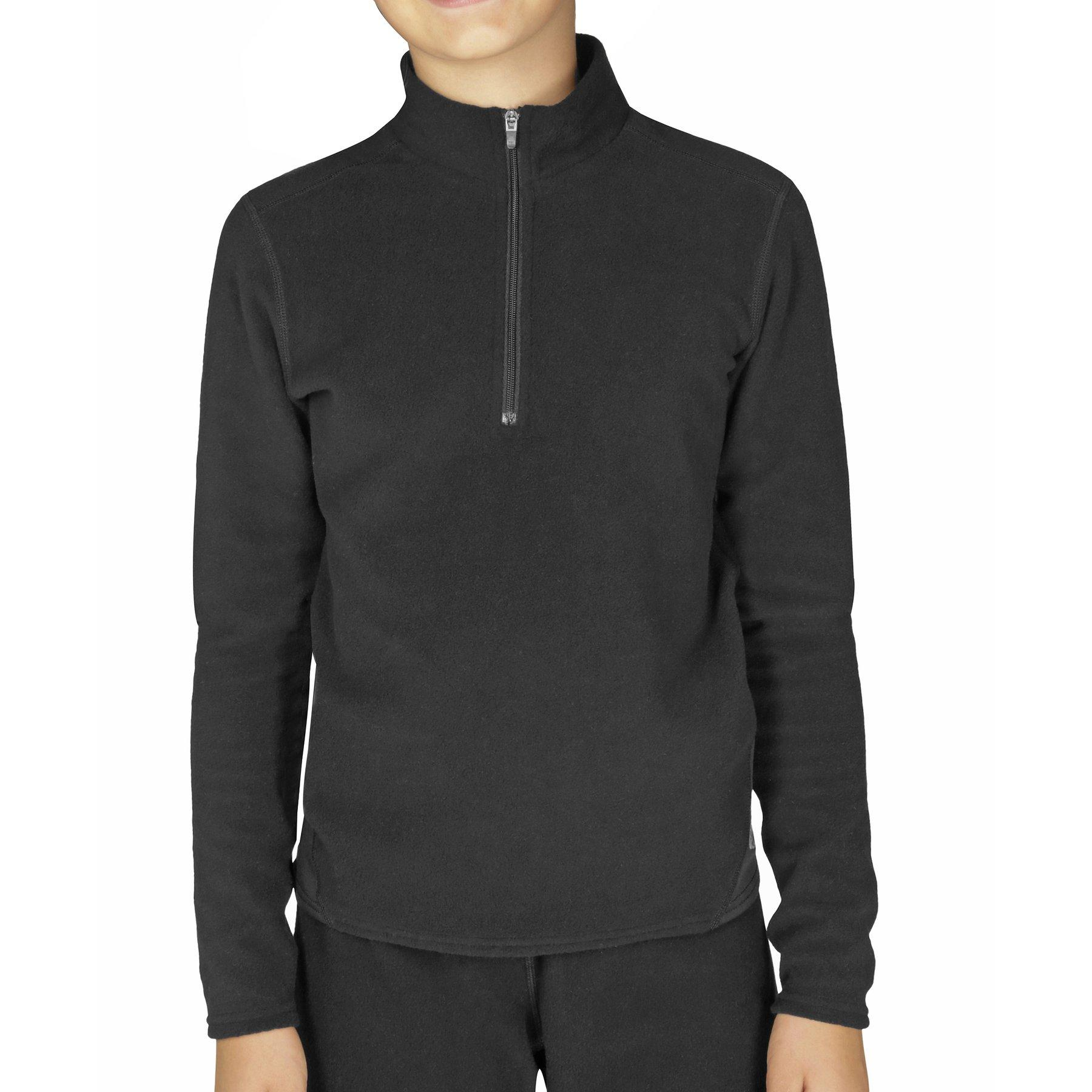 Hot Chillys Kids' La Montana ZIP T in Black