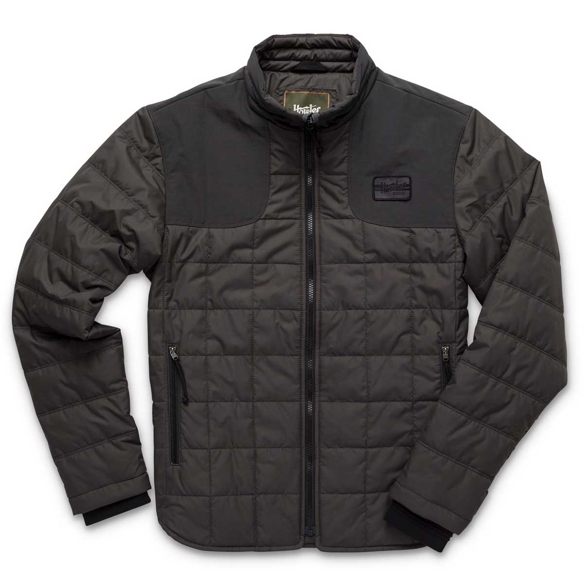 Front of Howler Bros Merlin Jacket in blackout