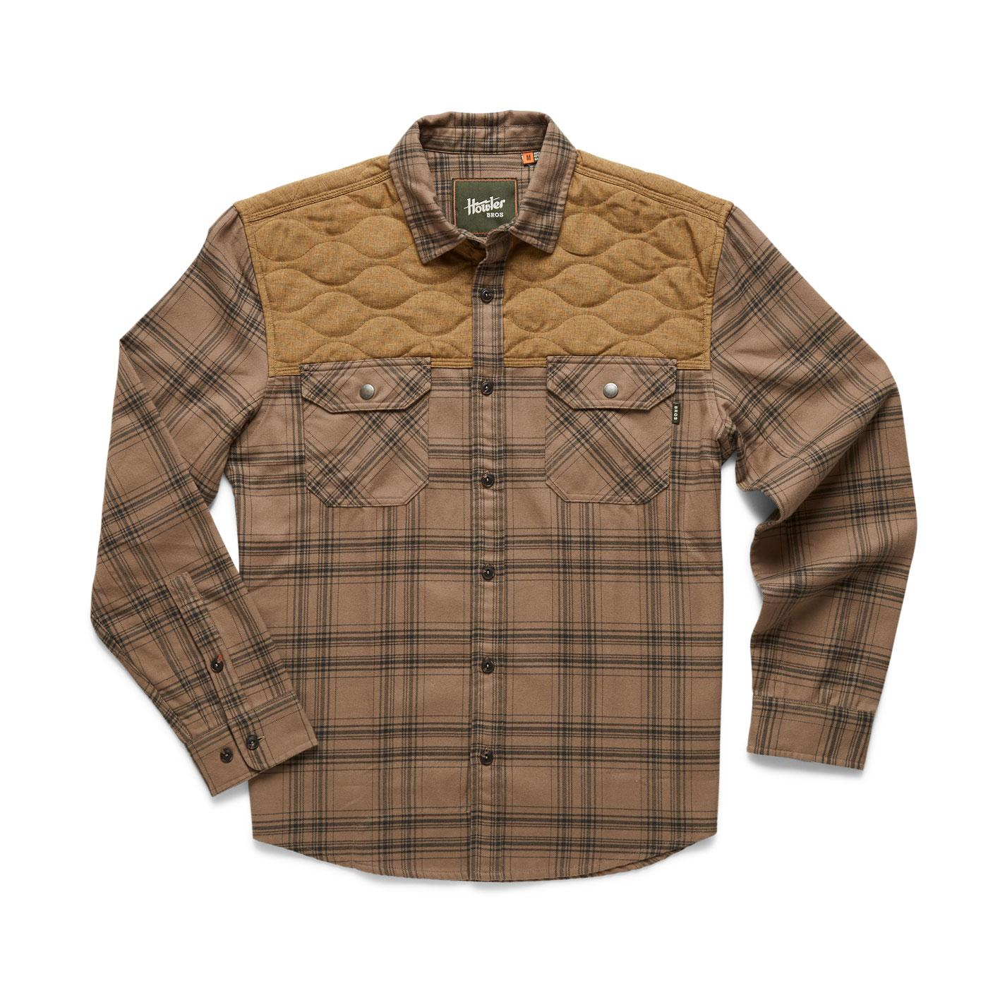 Howler Brothers Quintana Quilted Flannel Shirt - Men's