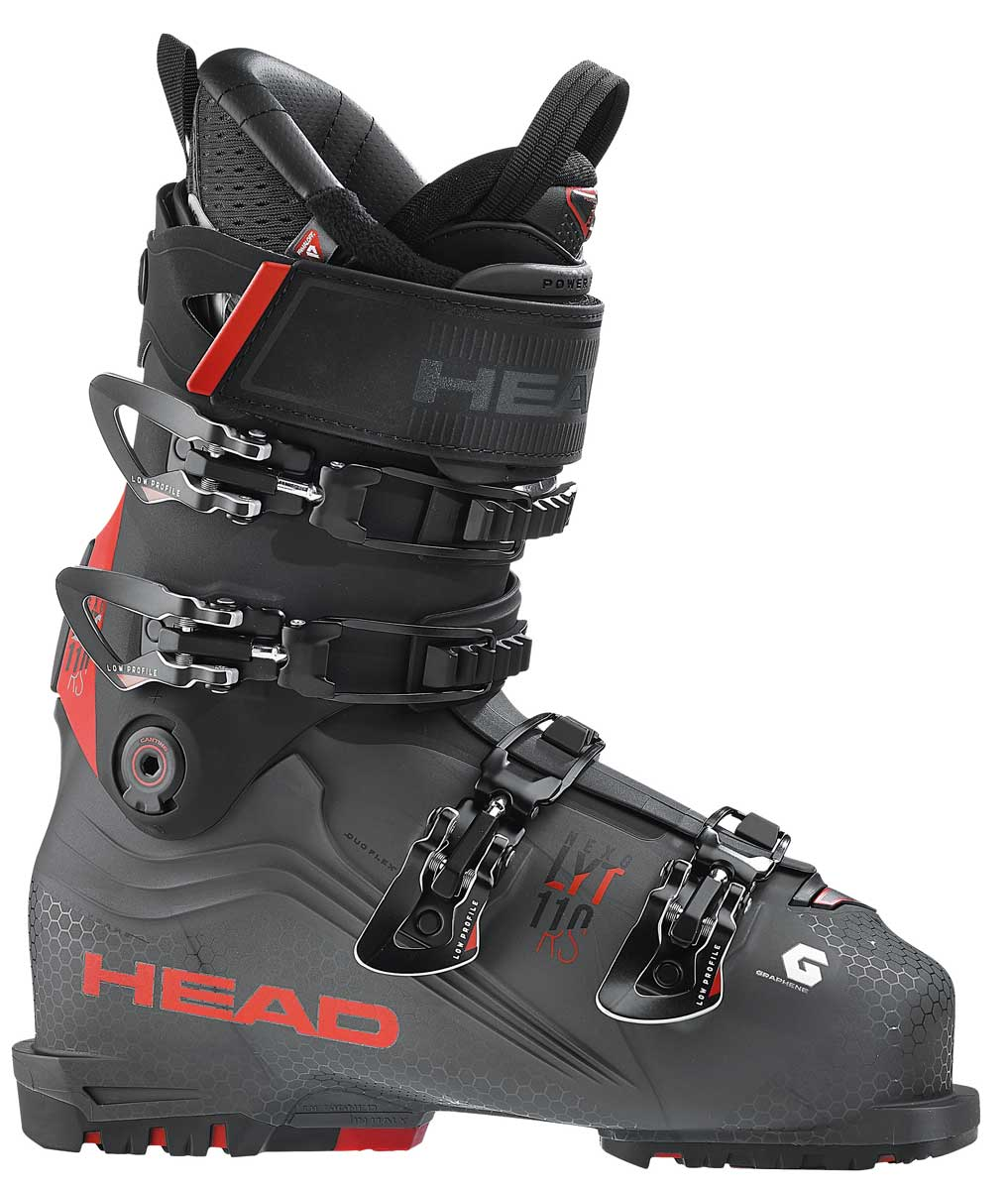 Head Nexo LYT 110 RS Ski Boot in Anthracite and Red