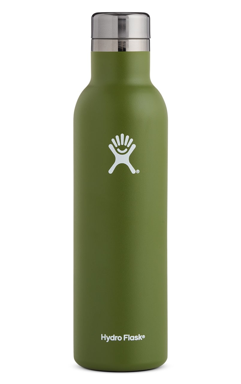 Hydro Flask 25 oz Wine Bottle in Olive
