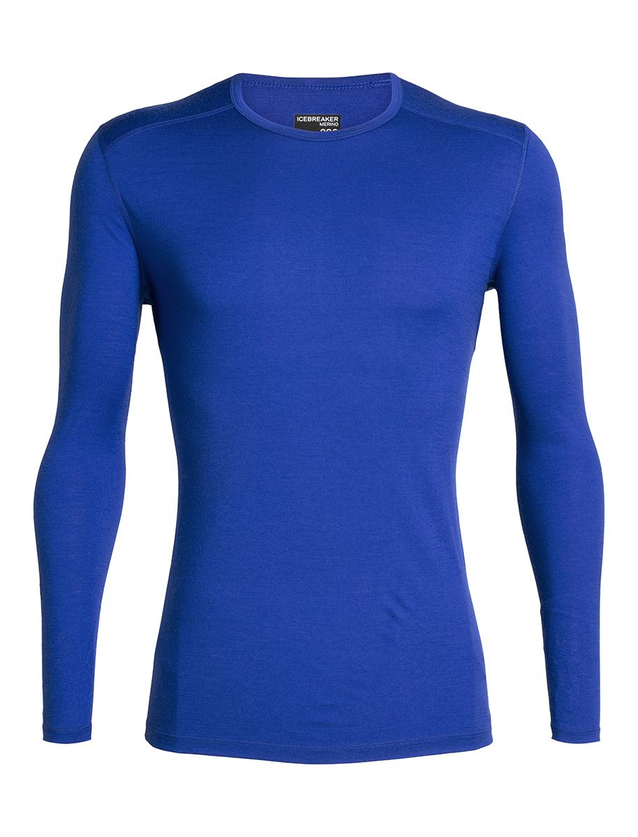 Icebreaker 200 Oasis Long Sleeve Crewe - Men's
