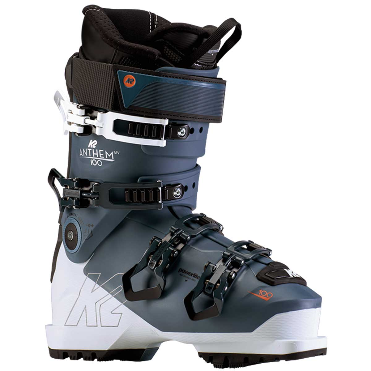 K2 Anthem 100 LV women's ski boot in grey