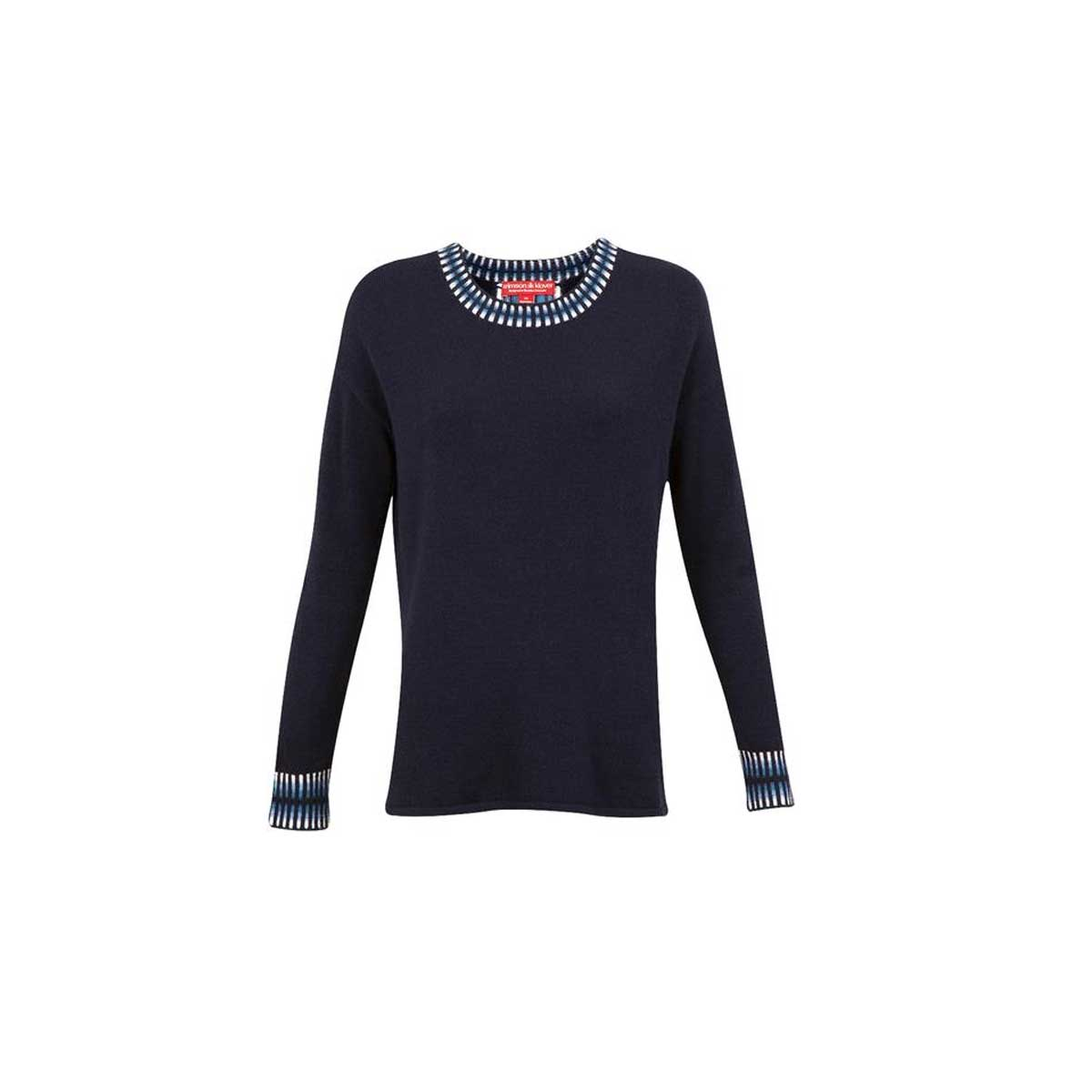 Krimson Klover Women's Wren Sweater in Indigo