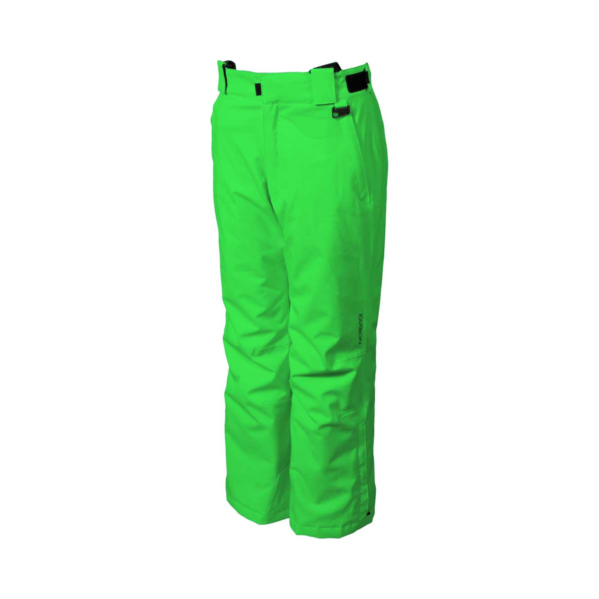 Karbon Boys' Caliper Pant in Lime Green