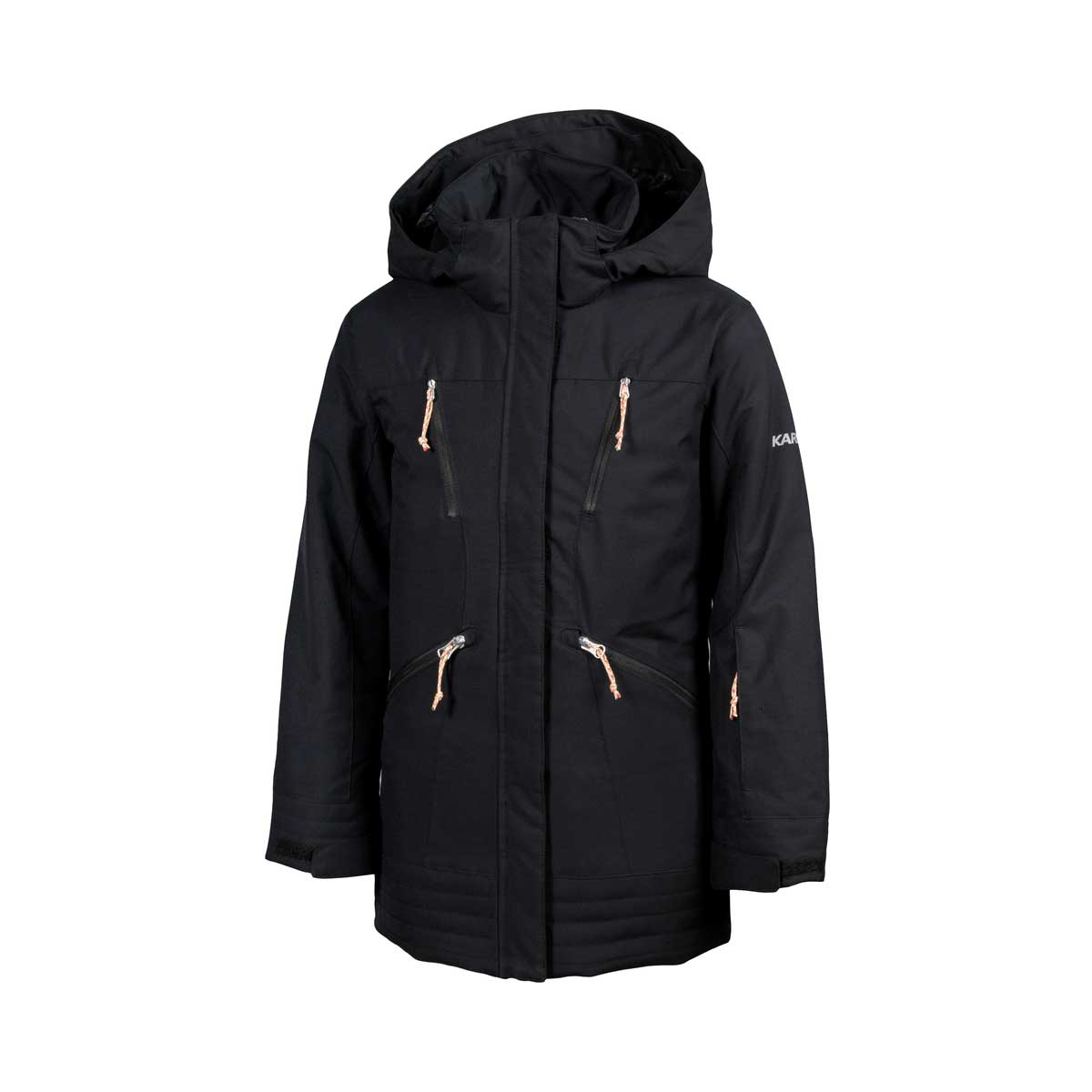 Karbon Girls' Nixie Jacket in Black