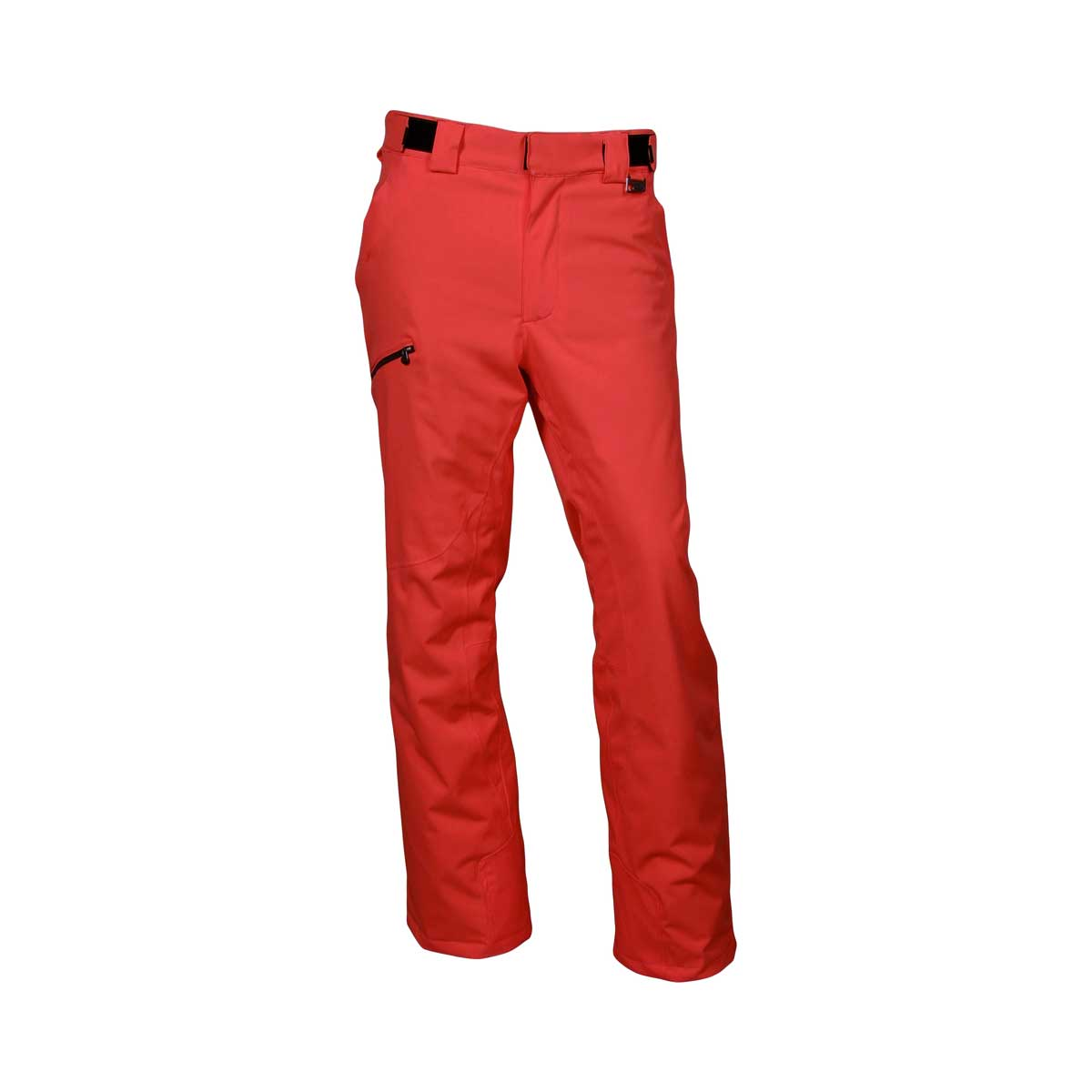 Karbon Mens' Silver Trim Fit Short Pant in Red