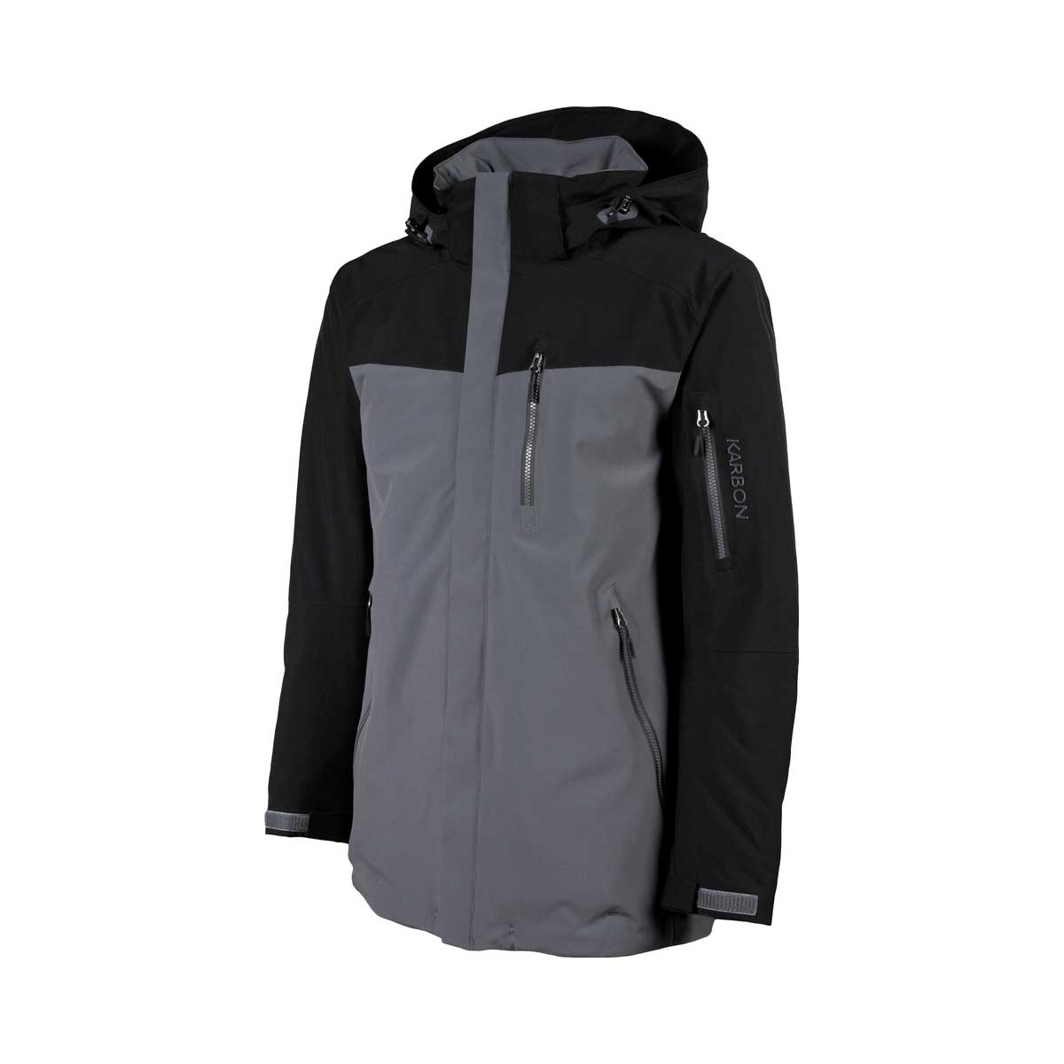 Karbon Men's Radar Jacket in Iron