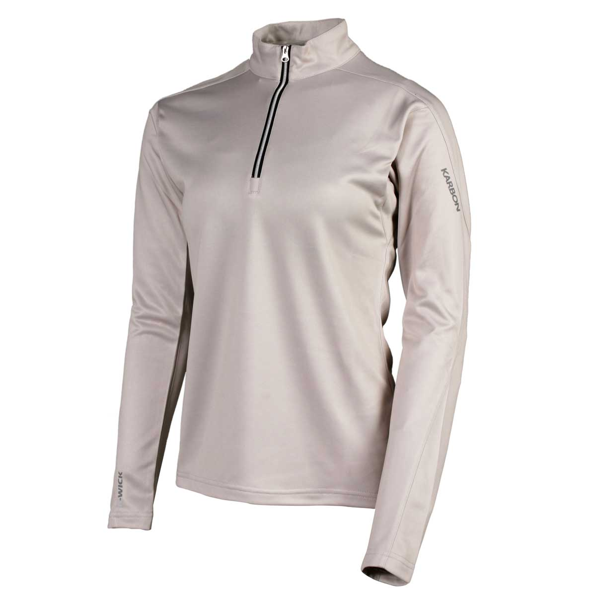 Karbon Women's Shift Pullover in Champagne