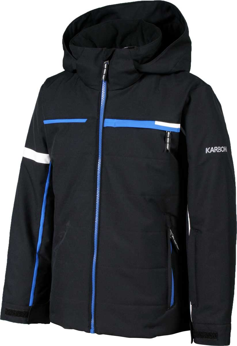 Karbon Boys' Speed Jacket in Black