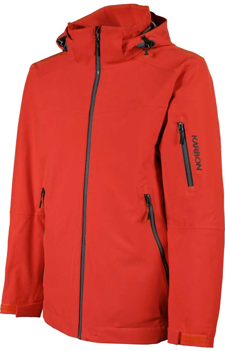 Karbon Men's McKinley Jacket in Crimson