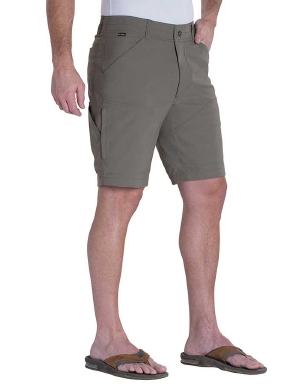 Kuhl men's Renegade 10 inch Short in khaki