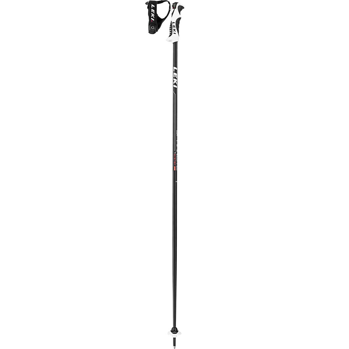 Leki Spark Lite S ski pole in antracite and red