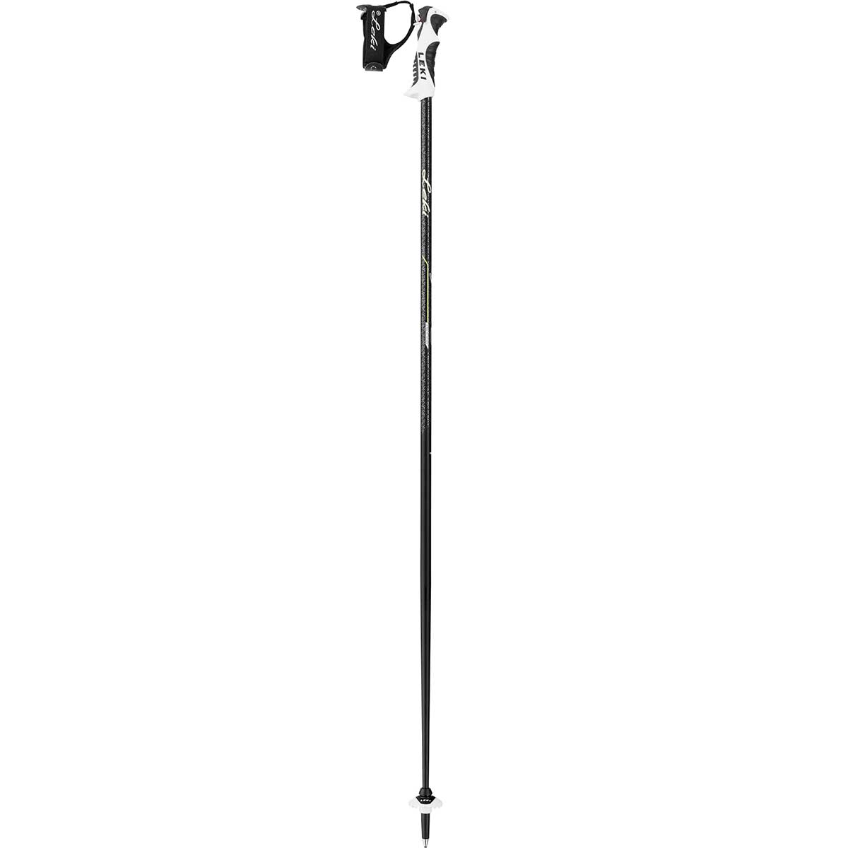 Leki Giulia S women's ski pole in black anthracite green