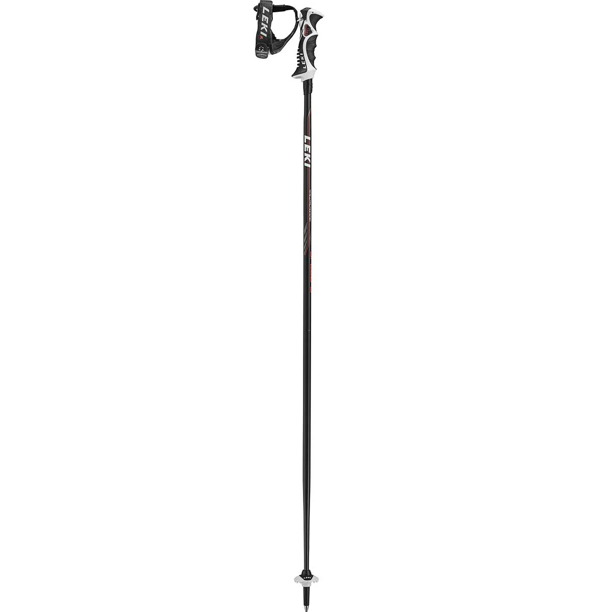 Leki Speed S ski pole in black red
