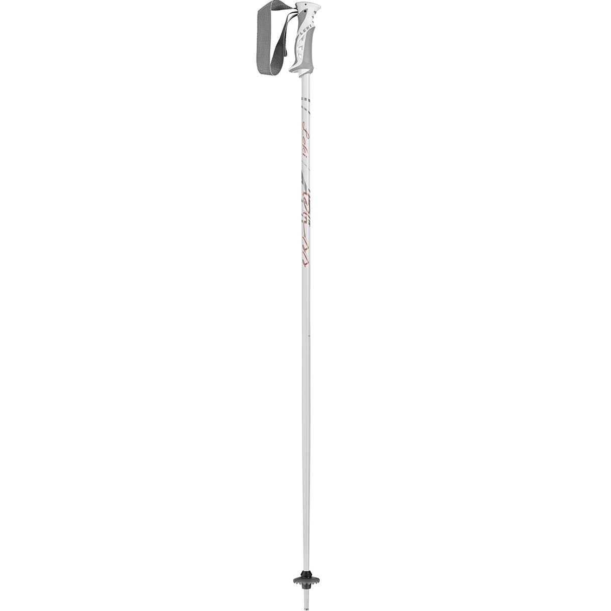 Leki Bliss women's ski pole in white