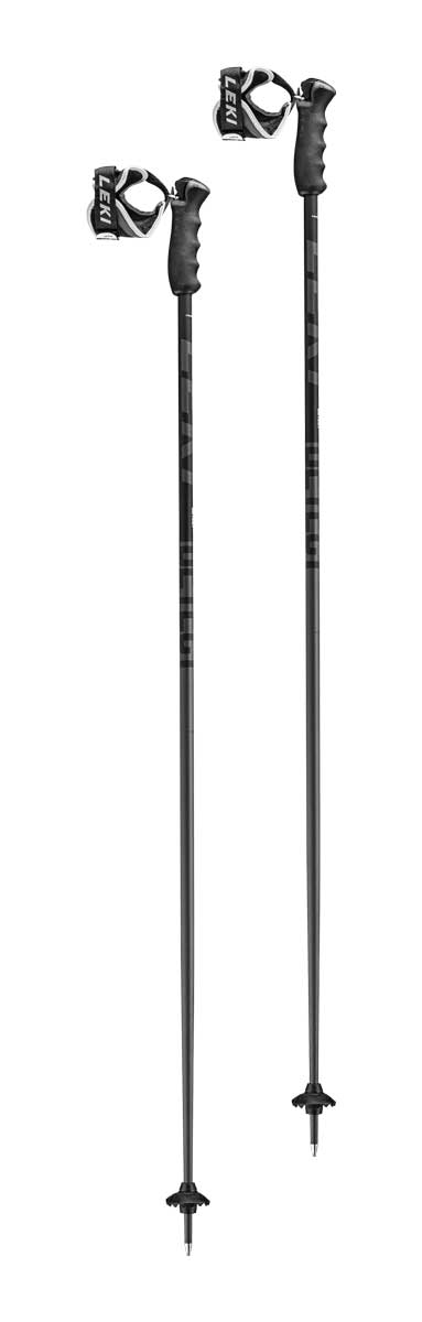 Leki Detect S Ski Pole in Black