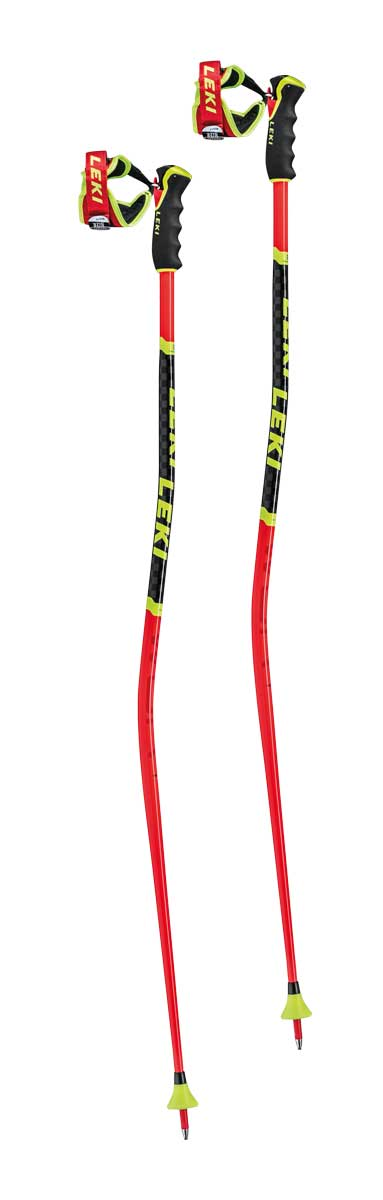 Leki WCR GS 3D Ski Pole in Red