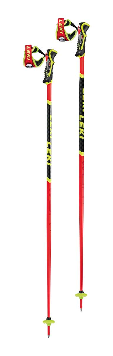 Leki WCR SL 3D Ski Pole in Red