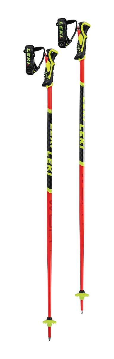 Leki Kids WCR Lite SL 3D Ski Pole in Red
