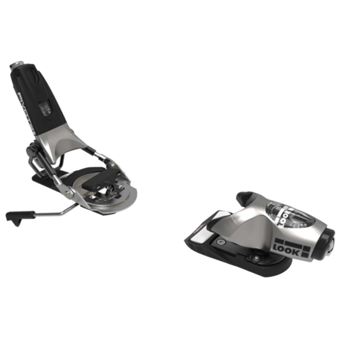Look Pivot 15 GripWalk ski binding in Raw