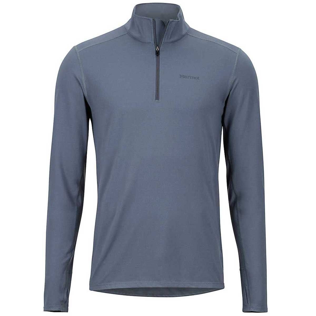 Marmot Men's Midweight Harrier 1/2 Zip Top in Steel Onyx