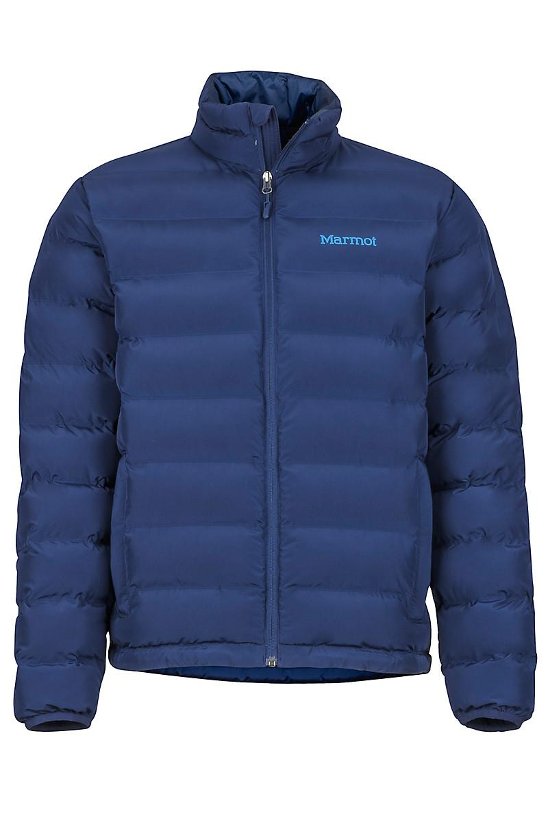 Marmot Men's Alassian Featherless Jacket in Arctic Navy