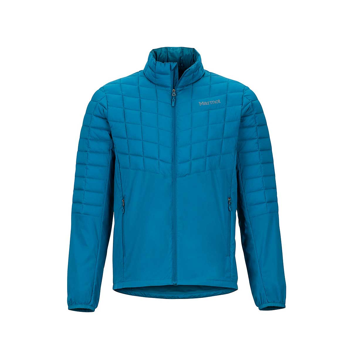 Marmot Men's Featherless Hybrid Jacket in Moroccan Blue