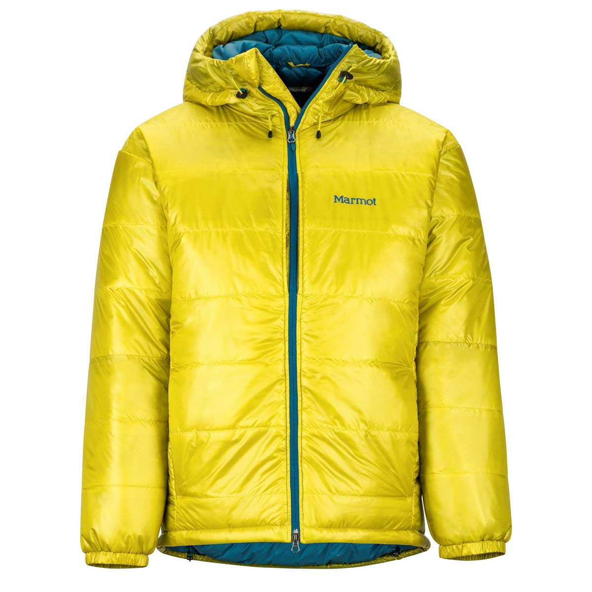 Marmot Men's West Rib Parka in Citronelle