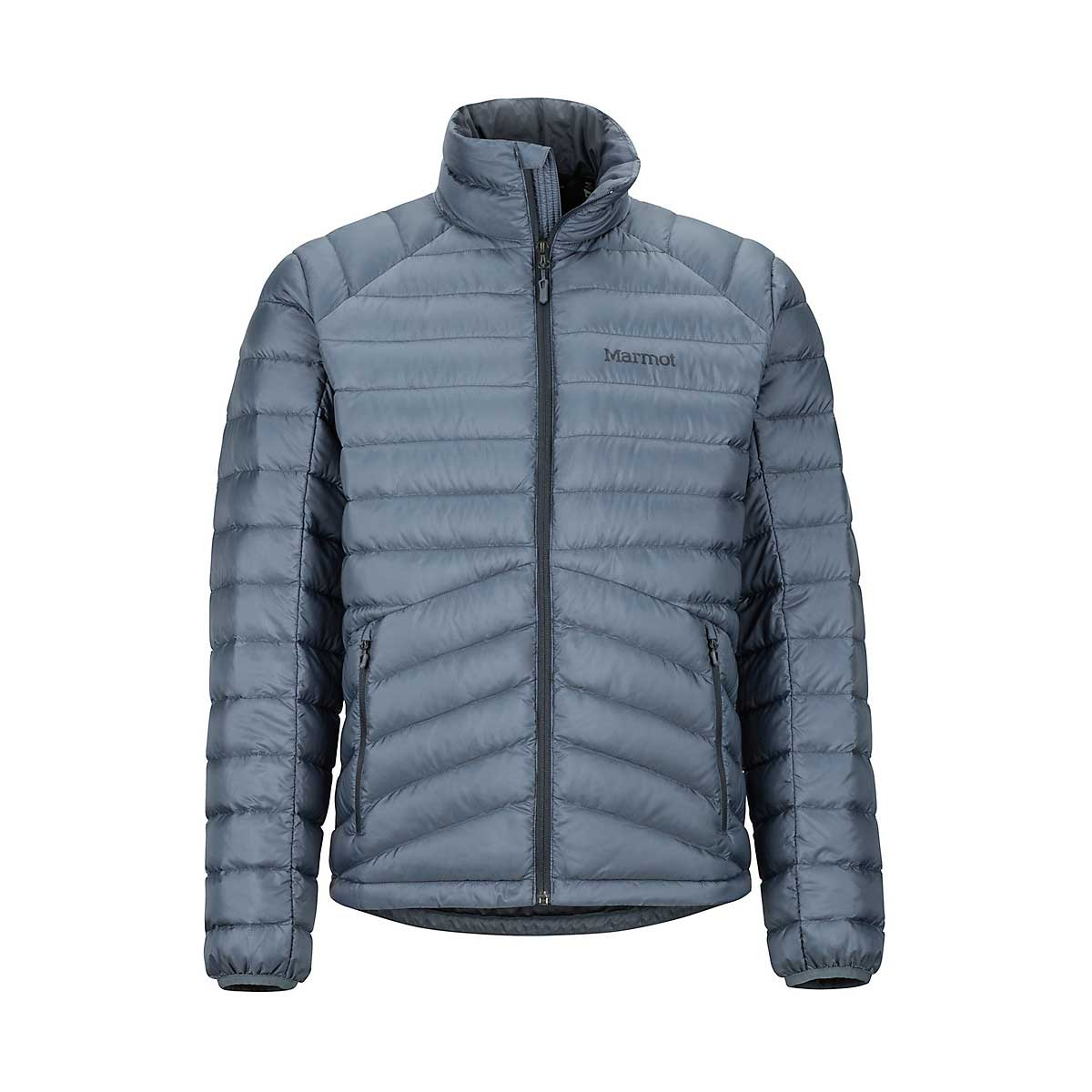 Marmot Men's Highlander Down Jacket in Steel Onyx