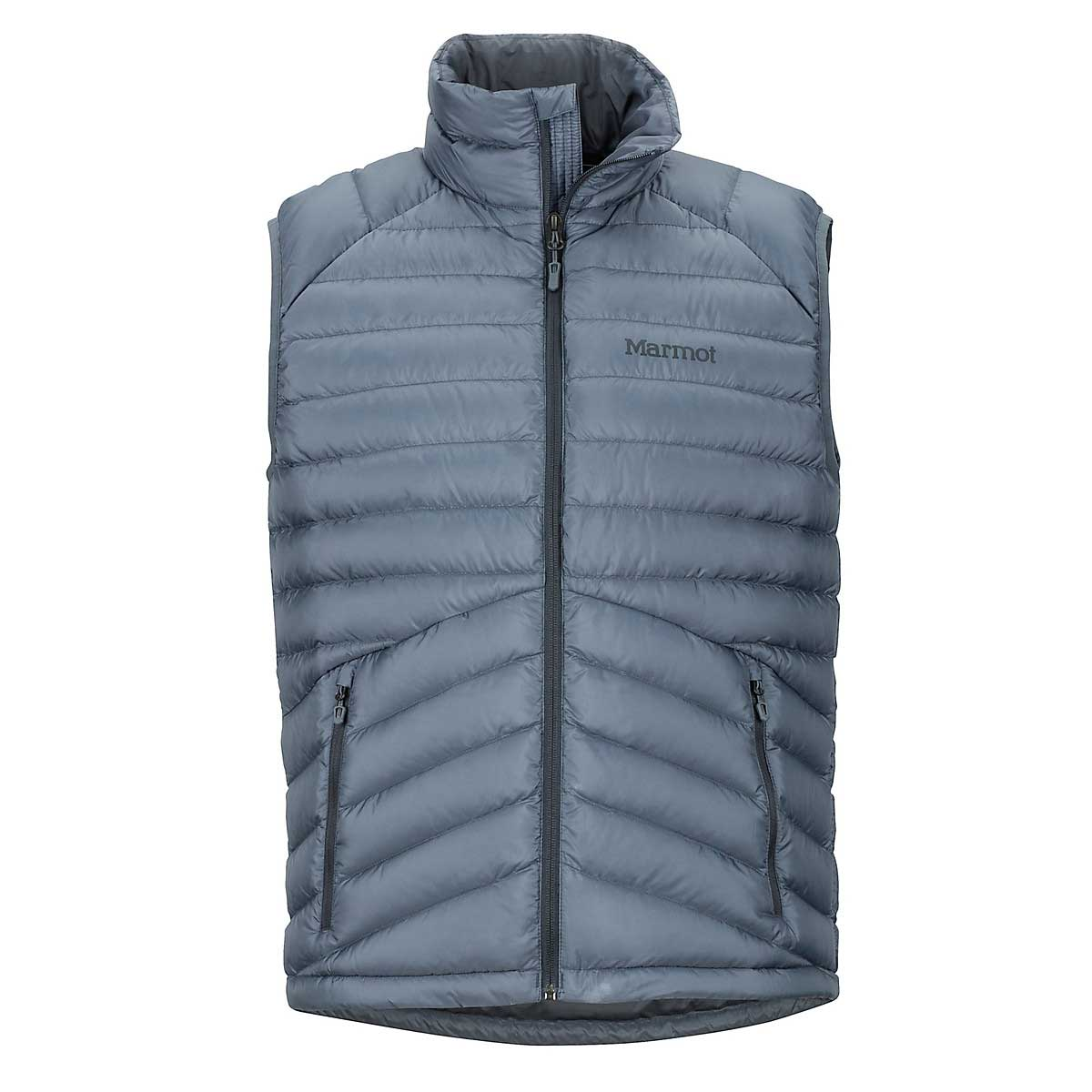 Marmot Men's Highlander Down Vest in Steel Onyx