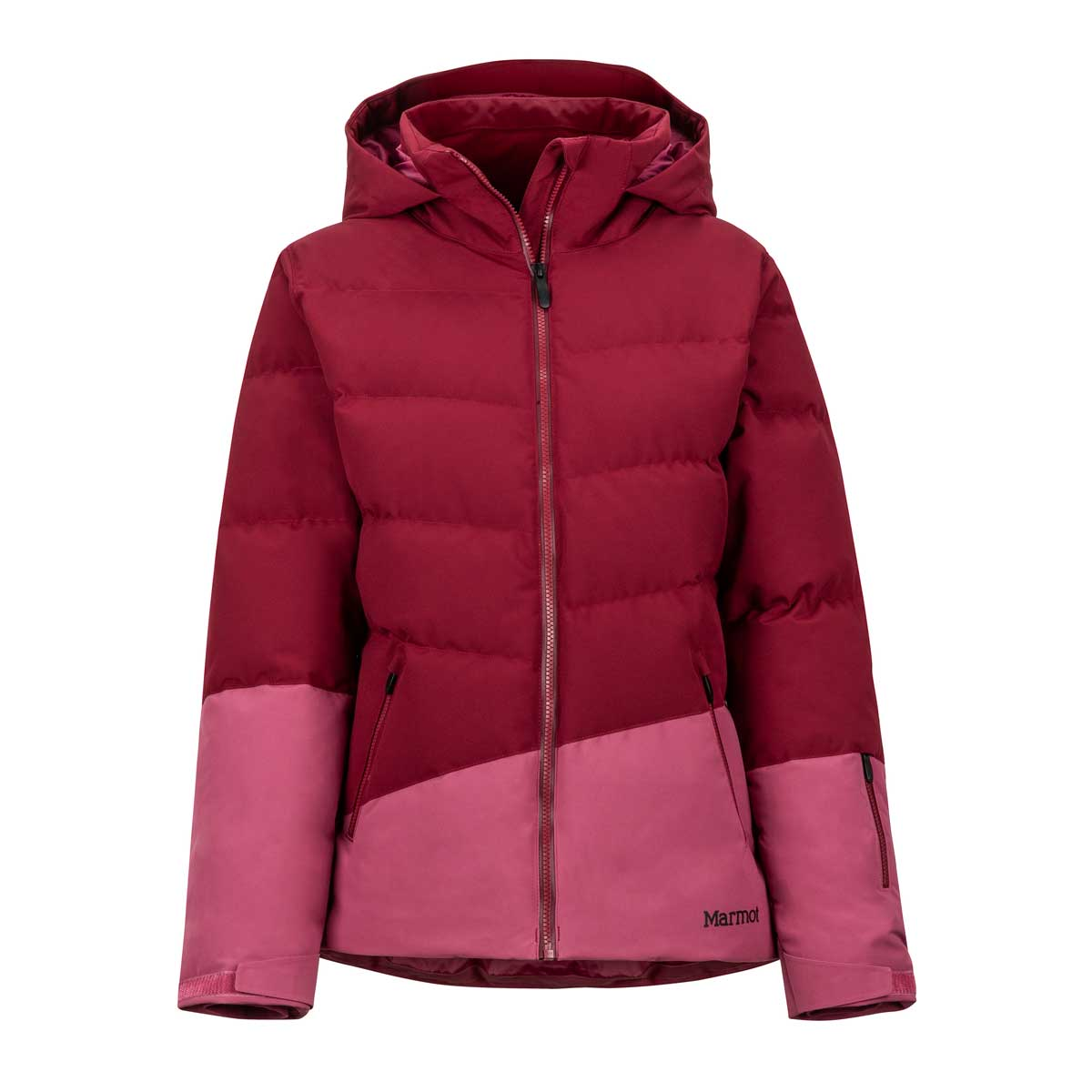 Marmot Women's Slingshot Jacket in Claret and Dry Rose