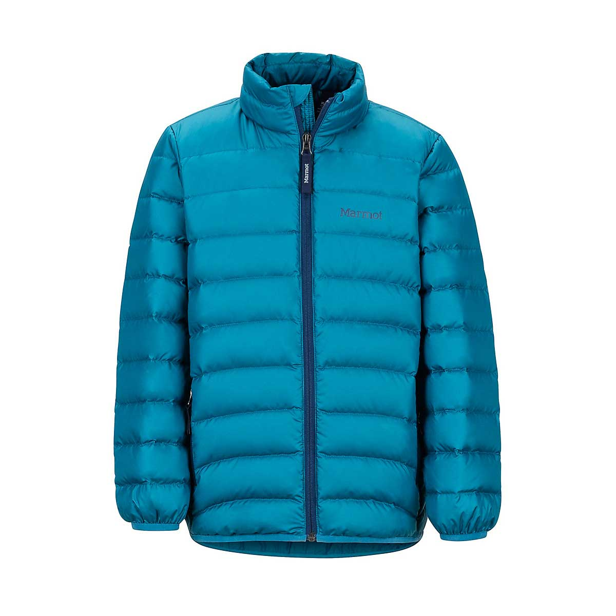 Marmot Boys' Highlander Down Jacket in Moroccan Blue