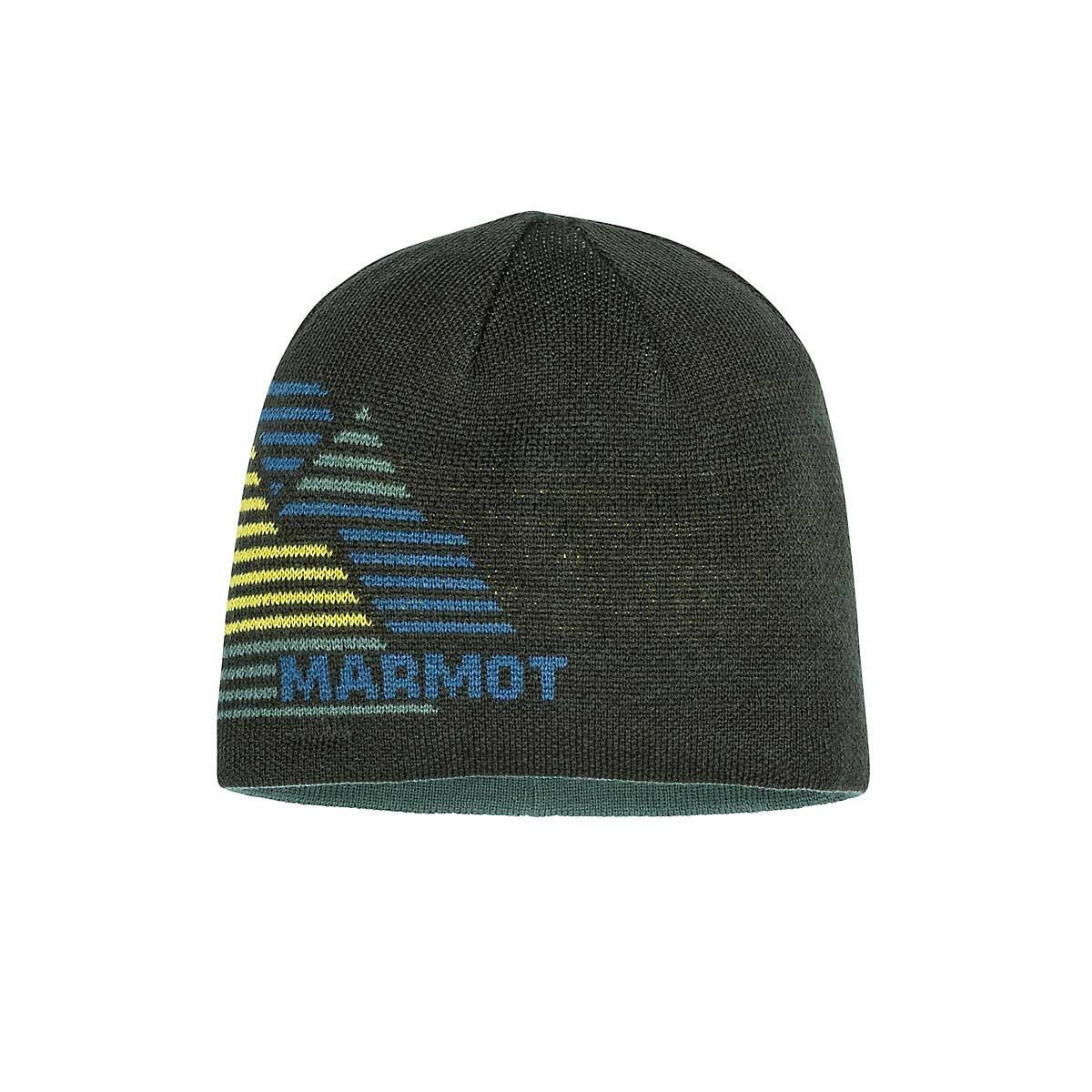Marmot Boys' Novelty Reversible Beanie in Rosin Green
