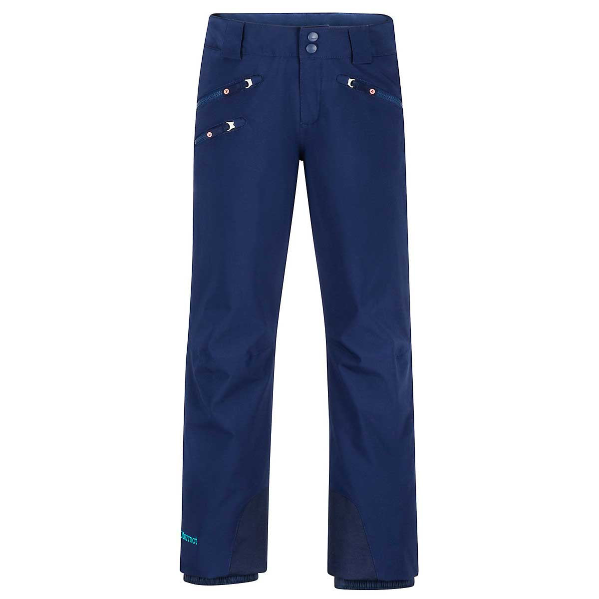 Marmot Girls' Slopestar Pant in Arctic Navy