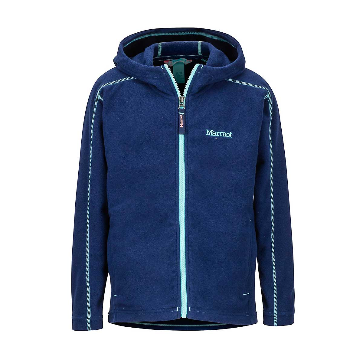Marmot Girls' Rocklin Hoody in Arctic Navy