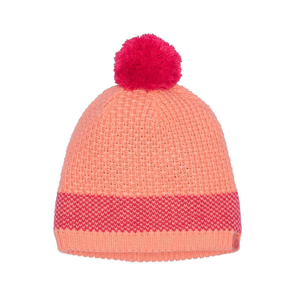 Marmot Girls' Charlene Hat in Spritzer Disco Pink