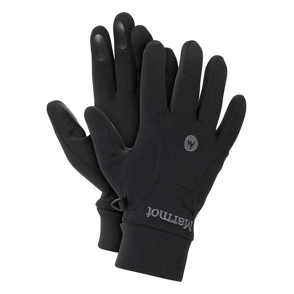 Marmot Men's Power Stretch Connect Glove in Black