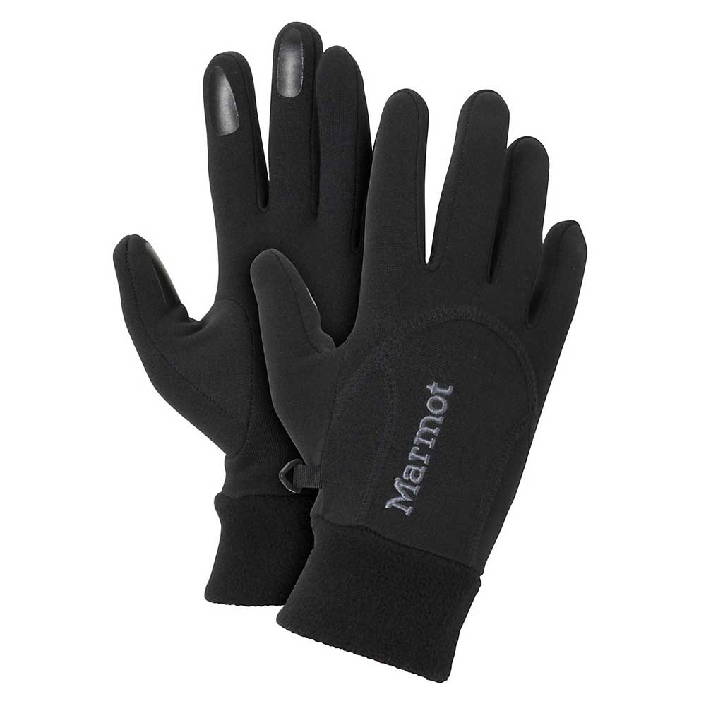Marmot Women's Power Stretch Connect Glove in Black