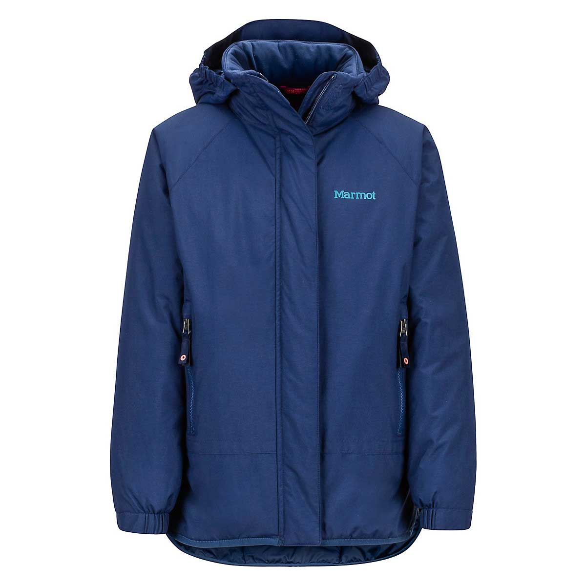 Marmot Girls' Janet Jacket in Arctic Navy