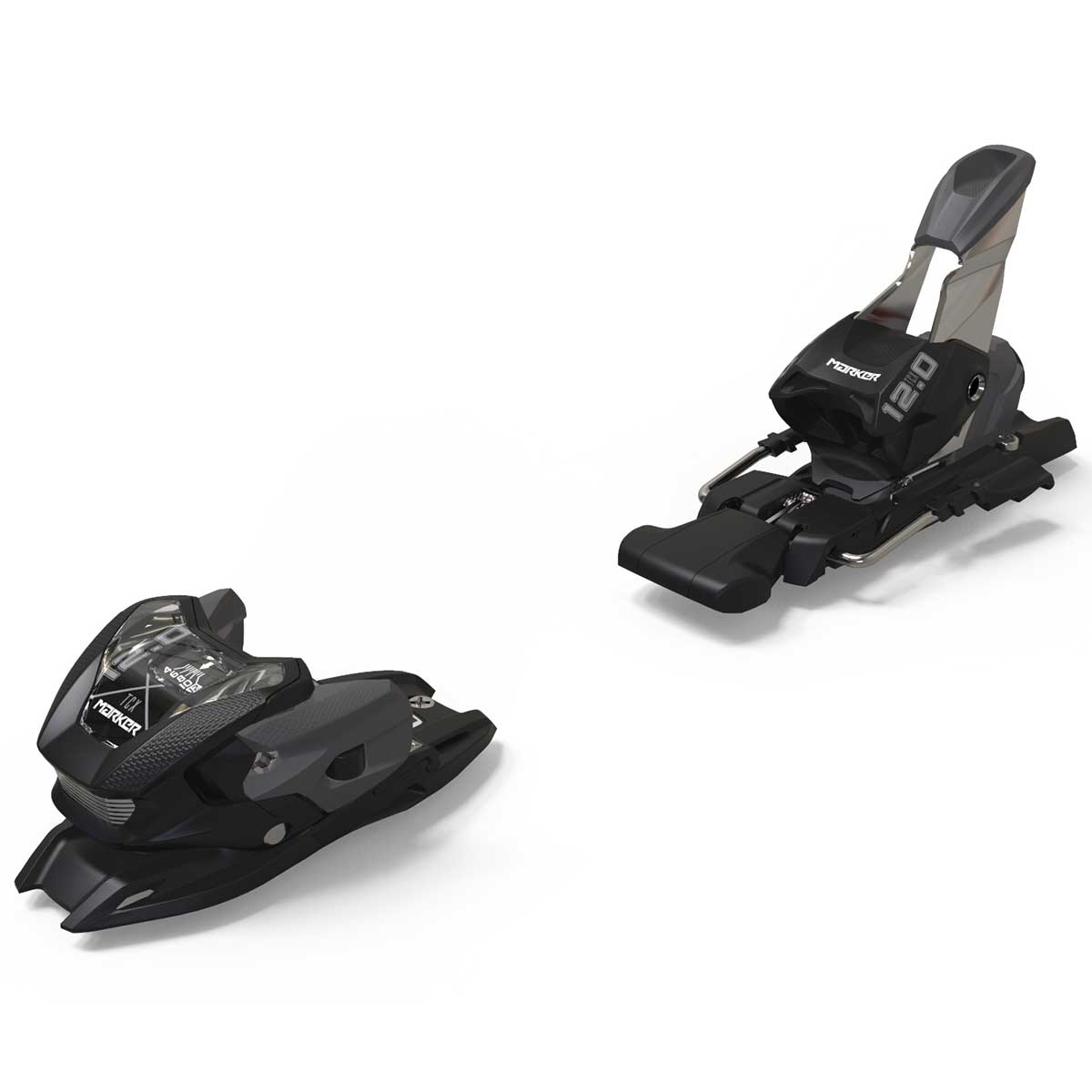 Marker 12.0 TPX ski binding in black anthracite