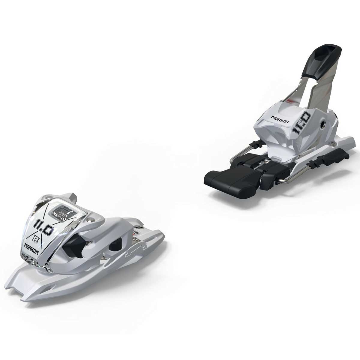 Marker 11.0 TP ski binding in white