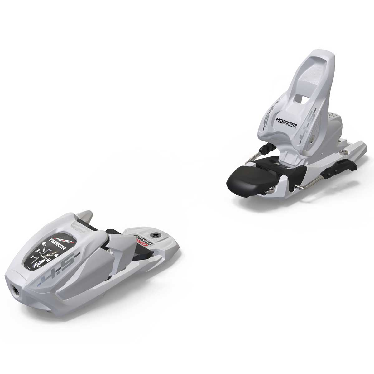Marker 4.5 junior ski binding in white