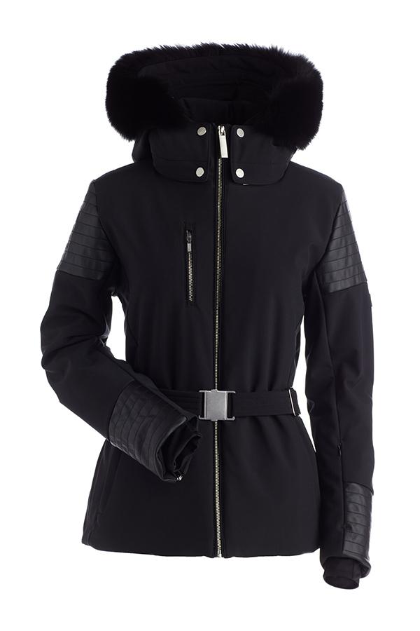8895eede7afa8a Nils Posh Jacket with Real Hoodfur - Women's