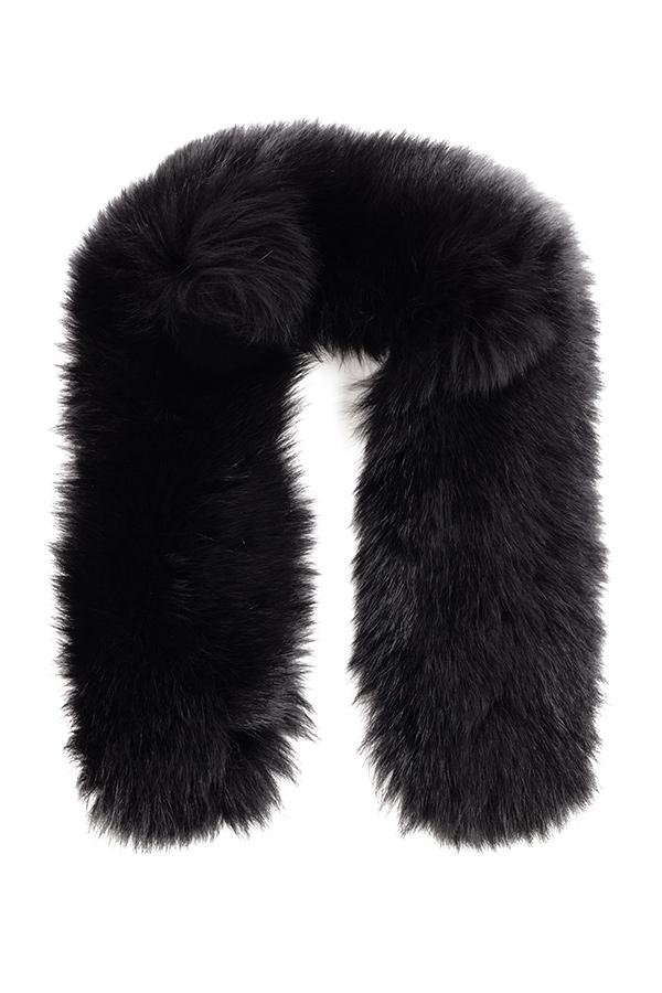 NILS Black Fox Fur Attachment