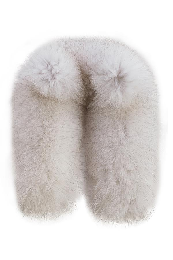 NILS Blue Fox Fur attachment
