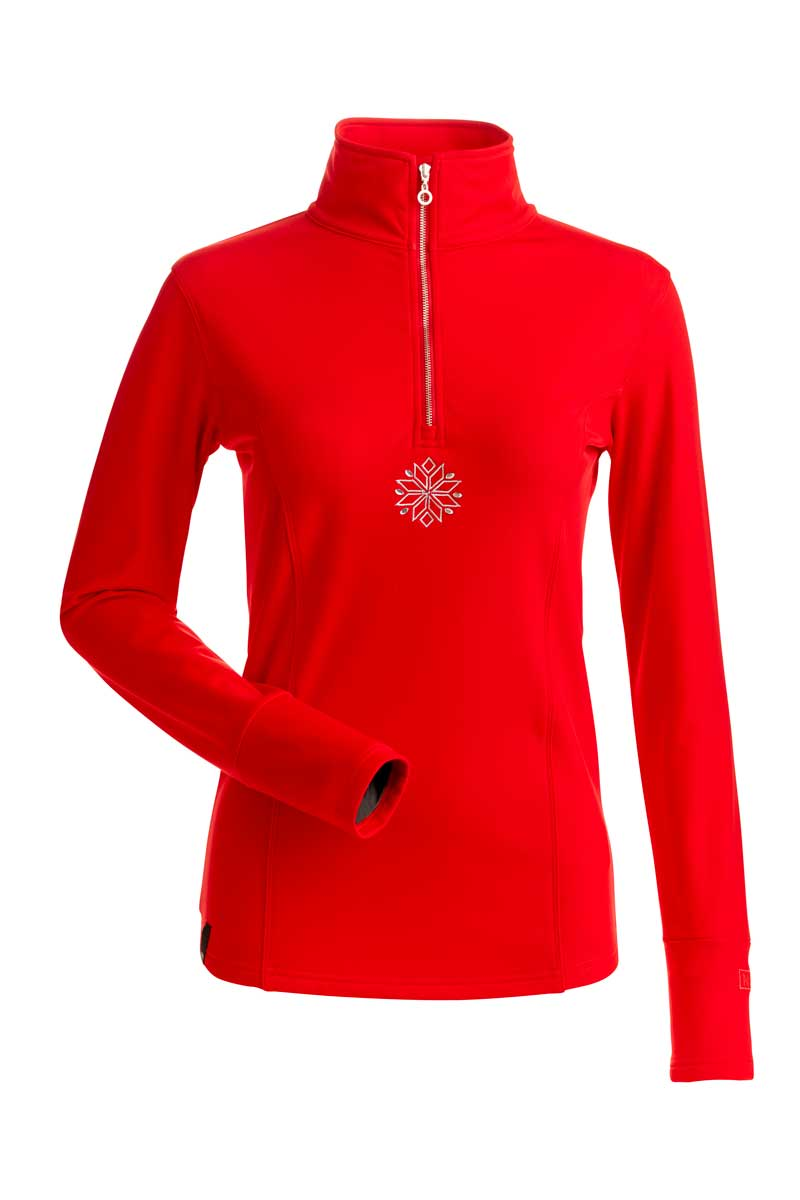 NILS Women's Sophie Top in Red