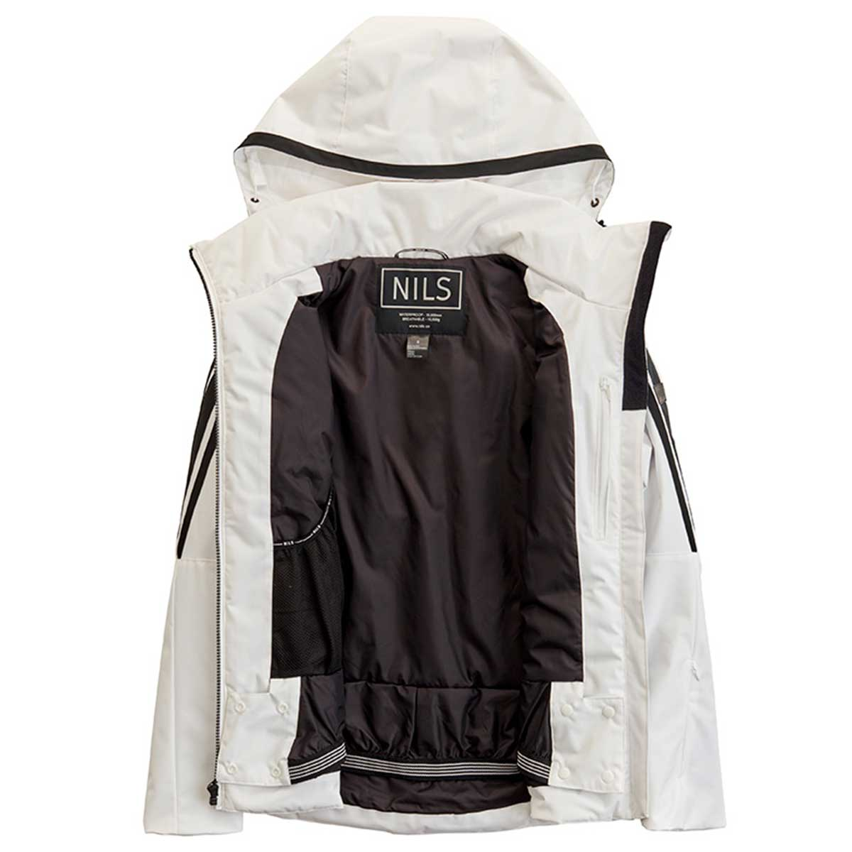 NILS Ester jacket in White